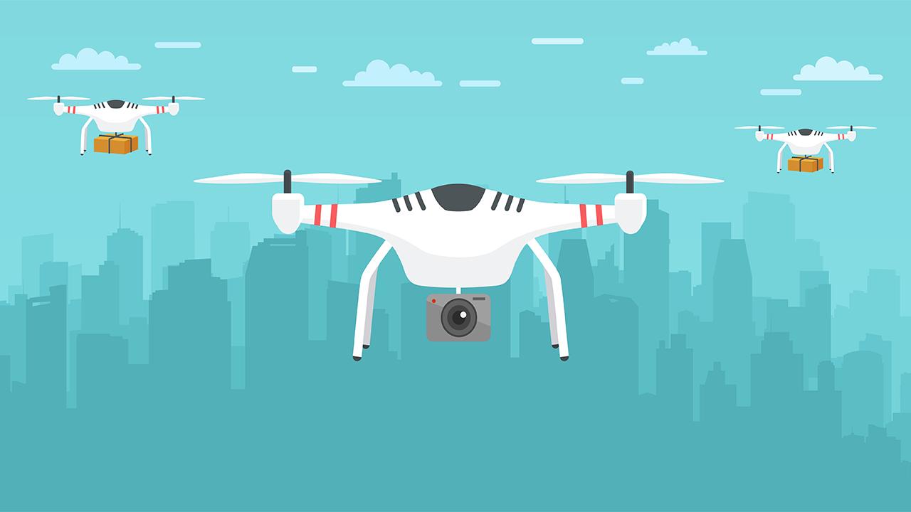 classificação de drones